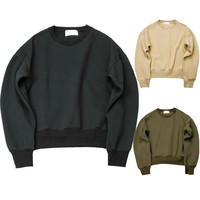 Couple Round-neck Pullover Hoodies [10368016323]