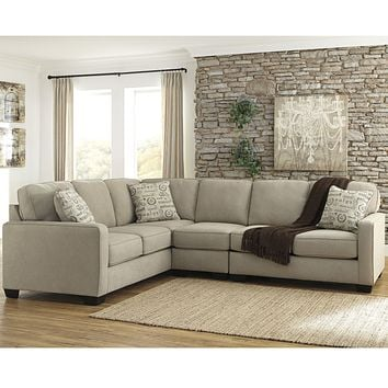 Signatureby Ashley Alenya 3-Piece LAF Sofa Sectional in Microfiber