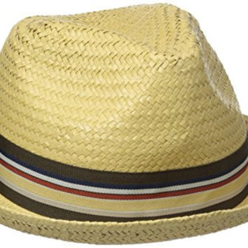 Brixton Men's Castor Fedora, Tan, Large