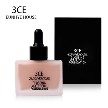 3CE EUNHYE HOUSE Brand Face Makeup Whitening Liquid Foundation Concealer Moisturizer Waterproof Face Cosmetics Hot Sale