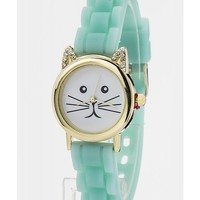 Kitty Watch - Mint