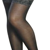 False Lace Garter+suspender+thigh Hi Pantyhose
