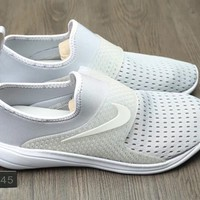 """Nike"" Unisex Sport Casual Barefoot Soft Bottom Shoes Sneakers Couple Breathable Running Shoes"
