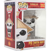 Funko Kung Fu Panda Pop! Movies Po (With Hat) Vinyl Figure