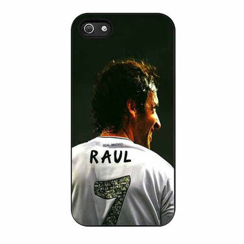 raul real madrid fc cases for iphone se 5 5s 5c 4 4s 6 6s plus