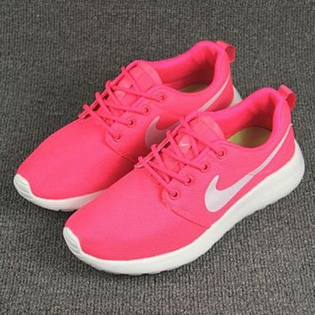 Tagre™ NIKE Women Men Running Sport Casual Shoes Sneakers Pink