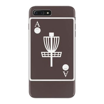 disc golf ace card target chains frisbee basket iPhone 7 Plus Case