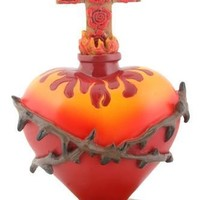 Sacred Heart with Thorns Day of the Dead Statue 6H