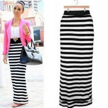 Best Long Striped Maxi Skirt Products on Wanelo