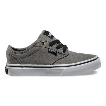 a8a717a9ce1b3e Vans Kids Atwood (Grindle pewter black) from Vans