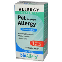 Bio-Allers Pet Allergy Treatment For People - 60 Tablets
