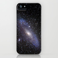 Galaxy Andromeda iPhone & iPod Case by Guido Montañés