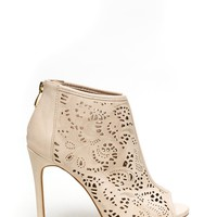 Boss Babe Laser Cut-Out Heels