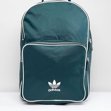 adidas Originals adicolor Backpack In Green CW0629 at asos.com