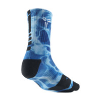 Nike Kobe 5AM Elite Crew Basketball Socks Size Medium (Blue)