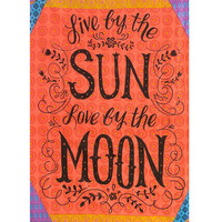 Live By The Sun Love By The Moon Tapestry