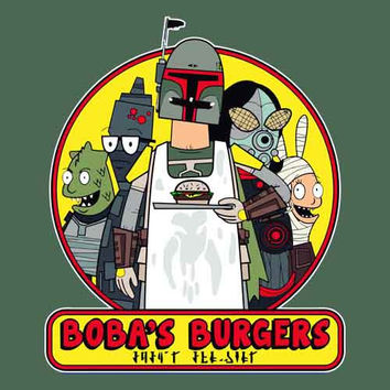 Boba s Burgers Youth Tee Shirt