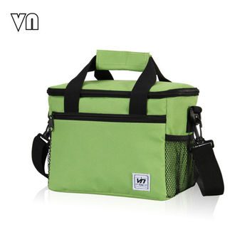 24*16*19 CM Large Insulated Thermal 600D Material Cooler Bags for Food Storage, Picnic, Travel Ice Bags Men Women Tote Handbags