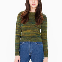 Long-Sleeve Knitted Sweater