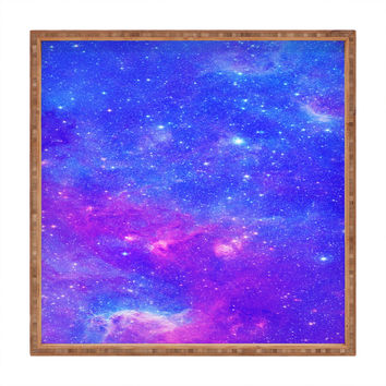 Viviana Gonzalez Beautiful galaxy 1 Square Tray