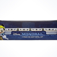 Disney Parks Monorail Set Die-Cast Vehicle New with Box