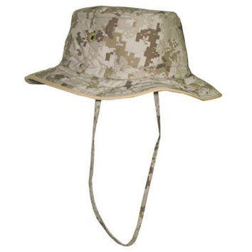 Cooling Booney Hat Marine Desert, Military Brown Camo, L/XL, #7021-M