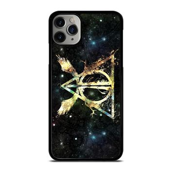 DEATHLY HALLOWS HARRY POTTER ICON iPhone Case Cover
