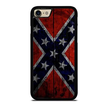 WOODEN REBEL FLAG iPhone 7 Case Cover