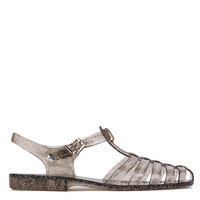 Gladiator Jelly Smoke Glitter Sandals