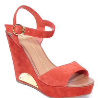 Shoes | Buy More Save More: Sandals | Paylan Suede Wedge Sandals | Lord and Taylor