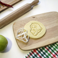 Snow White Cookie Cutter Disney Snowwhite Cookie Cutter Cupcake topper Fondant Gingerbread Cutters - Made from Eco Friendly Material