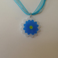 Ready to ship girls or women flower floral necklace spring jewelry
