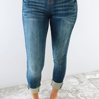 In For The Night Jeans: Denim