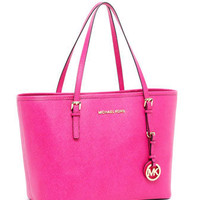 MICHAEL Michael Kors MICHAEL Michael Kors  Jet Set Travel Small Travel Tote, Zinnia - Michael Kors