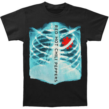 Red Hot Chili Peppers Men's  X-Ray T-shirt Black Rockabilia