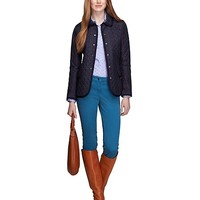 Black Watch Quilted Jacket - Brooks Brothers