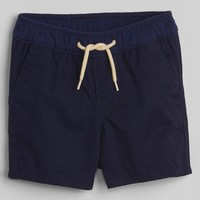 "2.5"" Pull-On Shorts in Twill