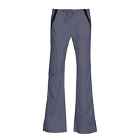 Empress by Maevn Women's Multi Pocket Fashion Flare Scrub Pant