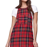 Vans Jumpstarter Dress - Womens Dress - Red