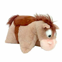 "disney parks toy story bullseye reverse pillow 20"" plush new with tags"