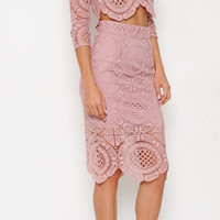 Baby Jane Crochet Two Piece Set