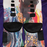 Biggie Coogi Custom Nike Elite Socks