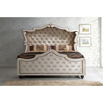 Diamond Queen Canopy Bed