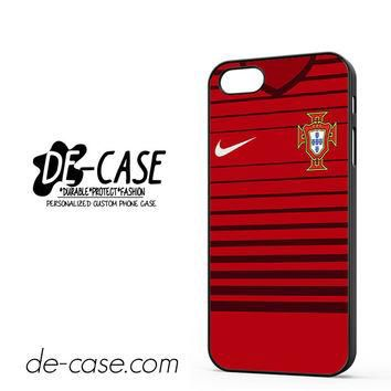 Portugal Soccer Jersey For Iphone 5 Iphone 5S Case Phone Case Gift Present YO