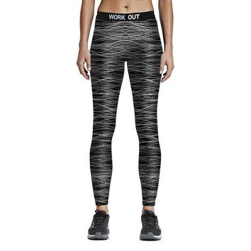 DCCKH6B Women Sporting Fitness Leggings Hot Digital Printed Work Out Stretchy Leggings Elastic Waist Ankle Length Ropa Deporte Mujer 75Z