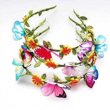 Imitation Butterfly Hair Band