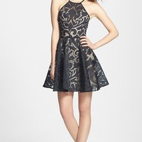 Keepsake the Label 'Romantic Rebel' Burnout Dress | Nordstrom