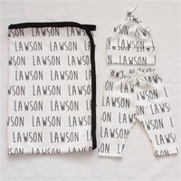 Personalized Newborn Bundle - Organic Cotton