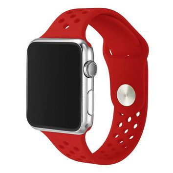 YIFALIAN 38MM 42mm watchband For Nike with Light Flexible Breathable silicone watchs strap band for apple watch iwatch watch