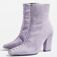 Harriet Lace Boots | Topshop